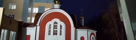 Храм освобожден от строительных лесов