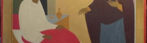 Продолжается работа над иконой Божией Матери Целительница для Храма св. вмч. Пантелеимона