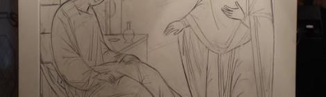Создание иконы Божией Матери ЦЕЛИТЕЛЬНИЦА для Храма св. вмч. Пантелеимона