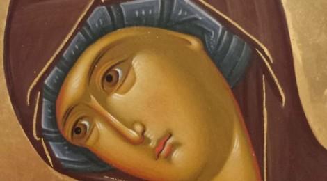 24 апреля 2016 года.  Освящение иконы Богоматери Целительница для больничного храма