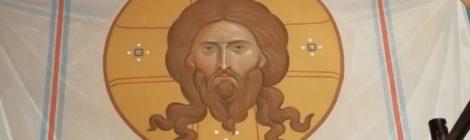 Завершается роспись алтаря Храма св. вмч. Пантелеимона
